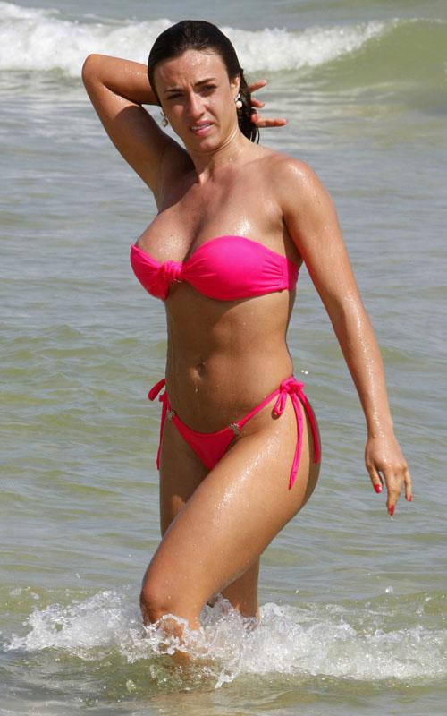 Nicole Bahls Showing Off Her Bikini Body In Rio